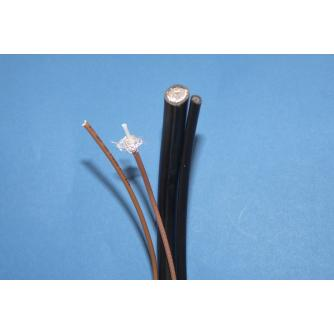 RG COAXIAL CABLE MIL-C-17 image 1