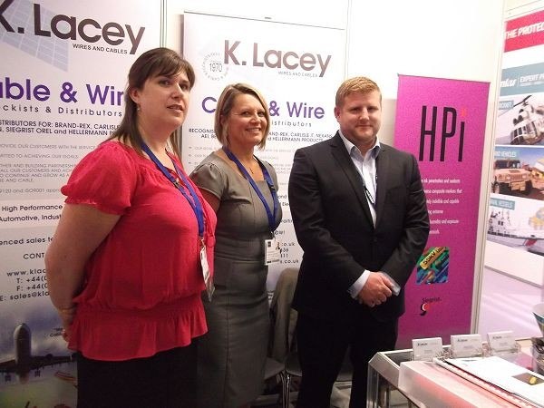 K. Lacey Wire and Cable enjoy success at DSEI 2013 image 4