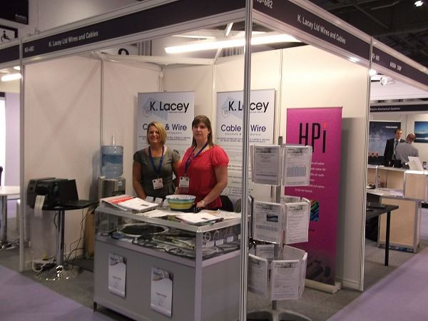 K. Lacey Wire and Cable enjoy success at DSEI 2013 image 2