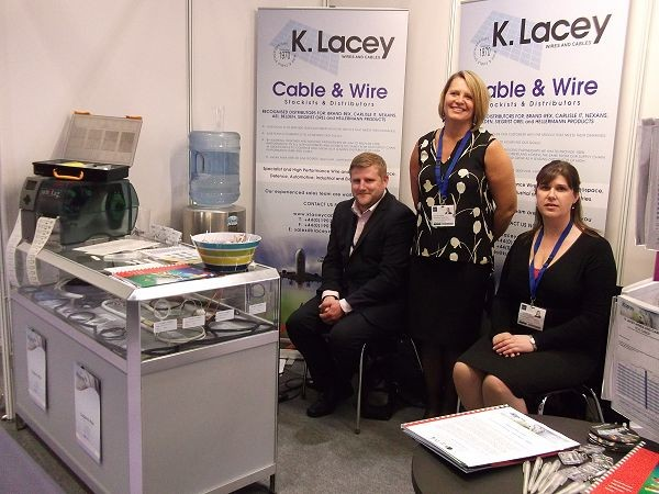 K. Lacey Wire and Cable enjoy success at DSEI 2013 image 1